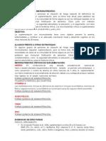 Resumen Suplementación de Micronutrientes