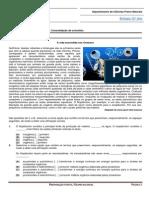 Ficha de Trabalho 6 - Consolidação de Conceitos