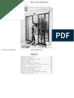 Fass - Porta Social Manual Instalaçao