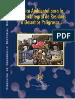 Politica Residuos Peligrosos Colombia