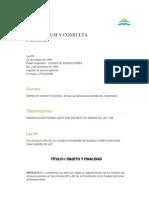Consulta Popular Ciudad de Buenos Aires