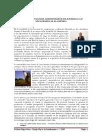 Las Competencias Del Administrador de Acuerdo a Las Necesidades de La Empresa