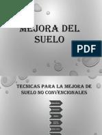 Mejora Del Suelo, Exp Geotecnia