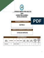 Programa de Auditoria II