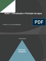 Aula I - Introdução e Poluição Da Água