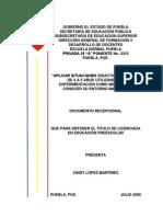 3.- Formato de Documento Recepcional
