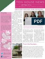 Carlton House Spring 2014 Newsletter