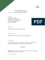 Consulta Popular Corrientes