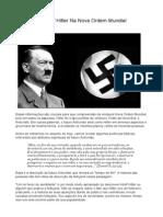 O Papel de Adolf Hitler Na Nova Ordem Mundial