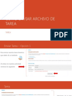 Como Enviar Archivo de Tarea