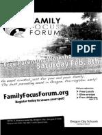 family focus forum