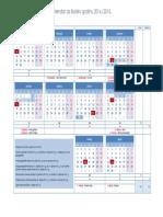Kalendar Za Skolsku Godinu 2014 2015
