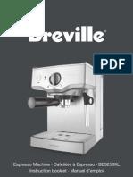 Breville BES250XL Manual