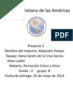 Instituto Cristiano de Las Américas Proyecto2
