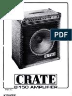 Crate-B150lc Deybynet Bassguit Combo