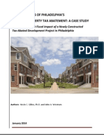 10 Year Abatement Tax Analysis