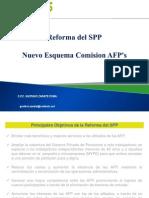 Nuevo Esquema Comision AFPs