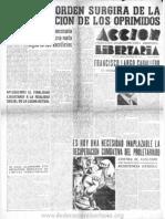 Acción Libertaria, Nº 40. Diciembre1940