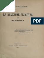 Religione Primitiva dellaSardegna