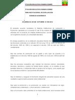 Ajustes Al Manual de Convivencia 2012-2013 SIEE