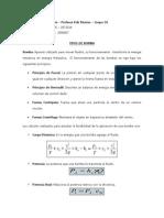 Tipos de Bomba - Ficha Resumen -Grupo O1