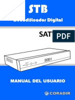 Manual Usuario Sintonizador TDT Television Digital Terrestre RF HDMI USB