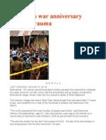 Sri Lanka War Anniversary Reopens Trauma