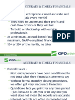 CFO WISE - How Monthly Financial Statements Help Entrepreneurs Solve Problems