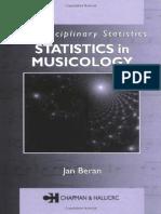 Statistics_in_Musicology, By Jan Beran