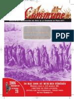 La Commune. Bulletin de L'Association Des Amis de La Commune de Paris - 1871. - 2006 Printemps-été, Numéro 28