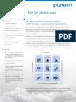 2013 PlumERP for LifeSciences Brief