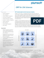 2013 PlumERP for LifeSciences Brief