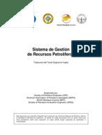 Spanish PRMS 2009