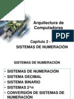 2 - 1 Sistemas de Numeración