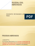 Proceso Abreviado - 2014