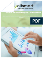 Tutorial de Importação CitSmart VirtualBox