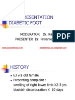 Diabetic Foot Case Presentation