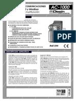 Adaptador RS 232 a RS 485