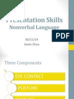 nonverbal skills