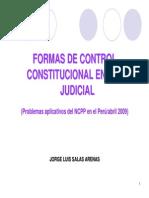 SALAS ARENAS. Formas de Control Constitucional[1]