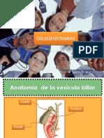 Colesistectomia Laparoscopica y Abierta