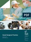 Buena Práctica Quirúrgica