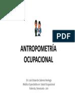 Antropometría y Biomecánica 1ra Parte