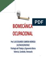 Antropometría y Biomecánica - 4ta Parte