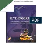 Analisis Literario y Musical-silvio Rodriguez-semblanza Biografica(Nestor Jose Leon)