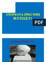 Module 01 (Sentence Patterns]