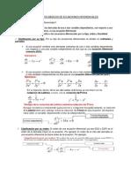 Conceptos Básicos de Ecuaciones Diferenciales
