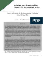 Teoría y Práctica Para La Extracción y Purificacion de DNA de Plantas