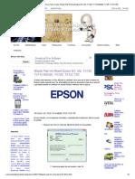 Consejos Soluciones y Tips Para Todo y Todos_ Waste Pad Ink Reset Epson t21, t22, TX120, TX110,ME320, TX125, TX121,T50