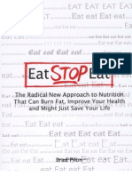 Preview of Eat Stop Eat - A special method of using flexible intermittent fasting for weigt loss.